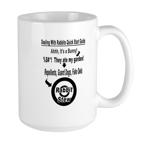 Dealing With Rabbits Quick Start Guide Mug