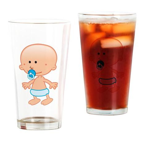 Baby Boy Drinking Glass