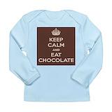 Chocolate Long Sleeve T Shirts