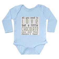 Love and ChocolateL/S Infant Bodysuit (pick color)
