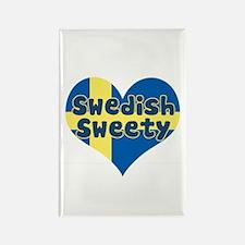 Swedish Sweety Rectangle Magnet
