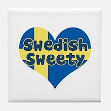 Swedish Sweety Tile Coaster
