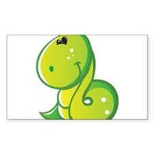 Friendly Snake Decal