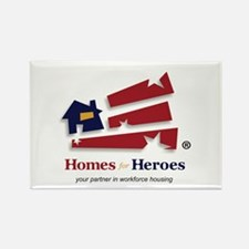 Homes For Heroes Rectangle Magnet
