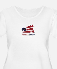 Homes For Heroes Plus Size T-Shirt