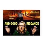 GOOD RIDDANCE Postcards (Package of 8)