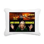 GOOD RIDDANCE Rectangular Canvas Pillow
