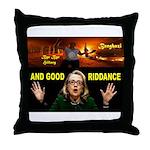 GOOD RIDDANCE Throw Pillow