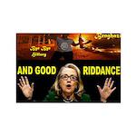 GOOD RIDDANCE Rectangle Magnet (100 pack)