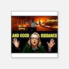 GOOD RIDDANCE Sticker