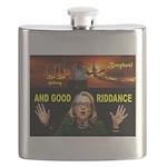 GOOD RIDDANCE Flask