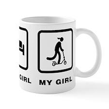 Scooter Riding Mug