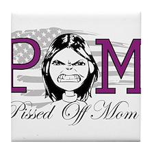 Pissed Off Mom Tile Coaster