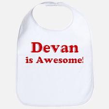Devan is Awesome Bib