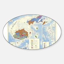 Fiji Map Decal