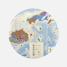 "Fiji Map 3.5"" Button (100 pack)"