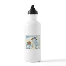 Fiji Map Water Bottle