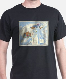 Fiji Map T-Shirt