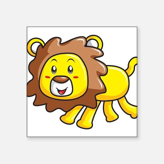 Stuffed Lion Sticker