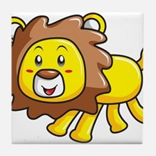 Stuffed Lion Tile Coaster