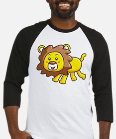 Stuffed Lion Baseball Jersey
