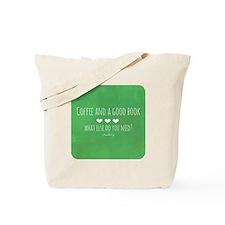 Coffee and Good Book Tote Bag