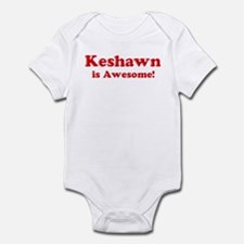 Keshawn is Awesome Infant Bodysuit