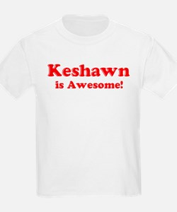 Keshawn is Awesome Kids T-Shirt
