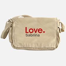 Love Sabrina Messenger Bag