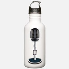 Microphone Water Bottle