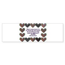 Autism Having A Heart Bumper Bumper Sticker