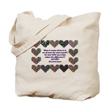 Autism Having A Heart Tote Bag