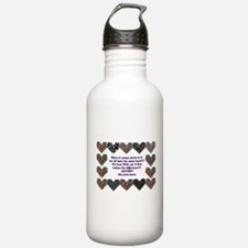 Autism Having A Heart Water Bottle