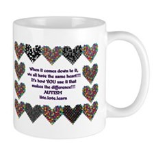 Autism Having A Heart Mug