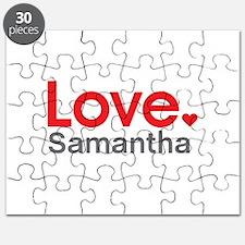 Love Samantha Puzzle