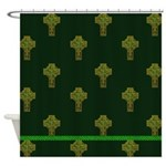 Irish Cross Shower Curtain