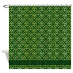 Irish Celtic Shower Curtain
