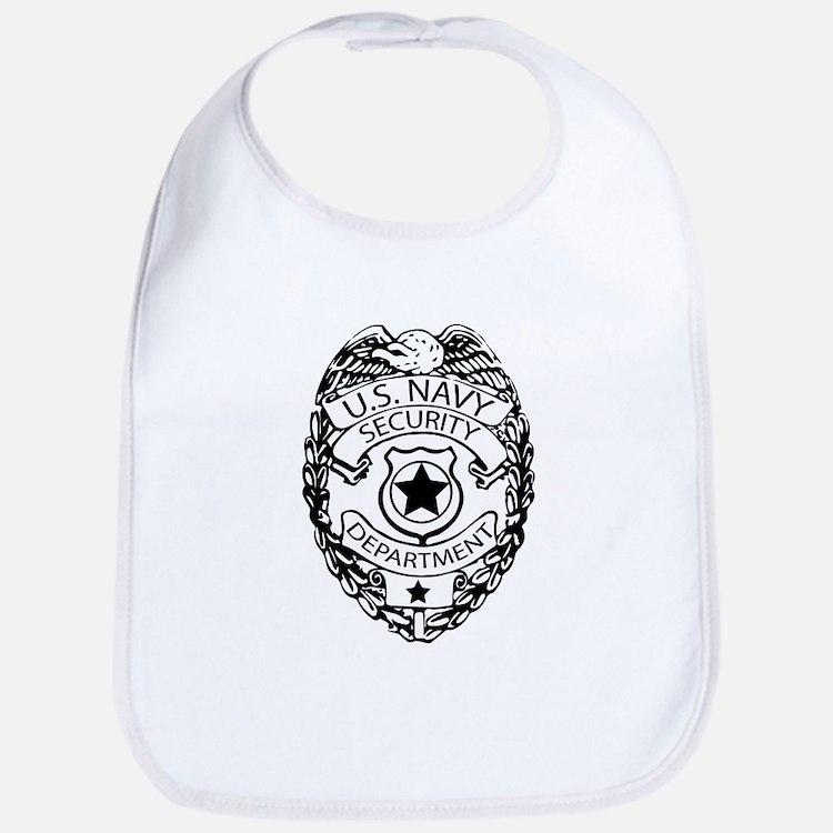 US Navy Police Badge Bib