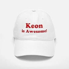 Keon is Awesome Baseball Baseball Cap