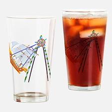 Amusement Park Ride Drinking Glass