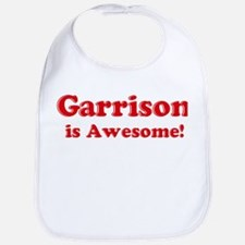 Garrison is Awesome Bib