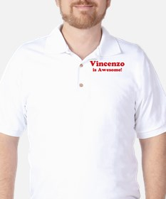 Vincenzo is Awesome T-Shirt