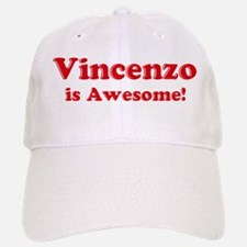 Vincenzo is Awesome Baseball Baseball Cap