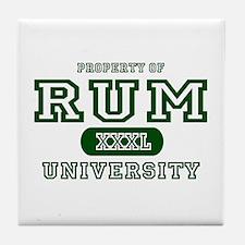 Rum University Tile Coaster