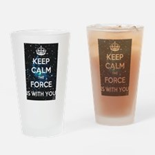 The Force is with you Drinking Glass