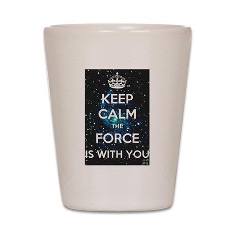 The Force is with you Shot Glass