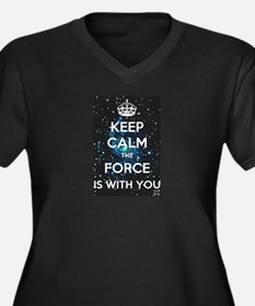 The Force is with you Plus Size T-Shirt