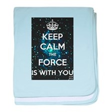 The Force is with you baby blanket