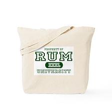 Rum University Tote Bag