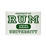 Rum University Rectangle Magnet